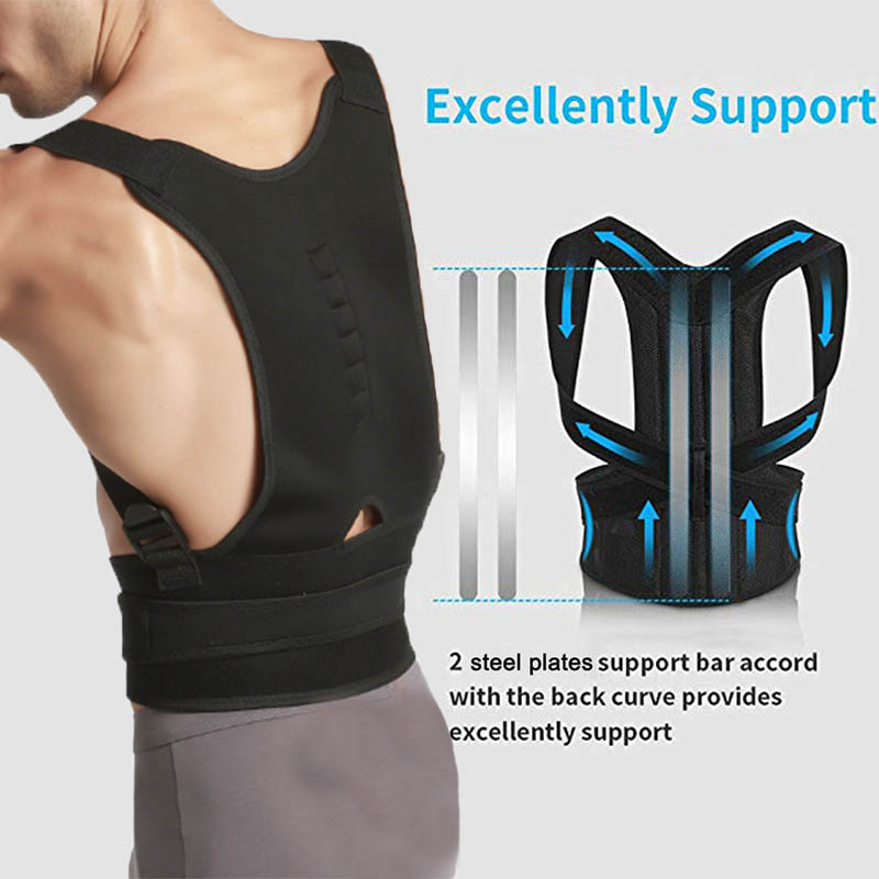 Elastic Posture Corrector Back Support Fully Adjustable