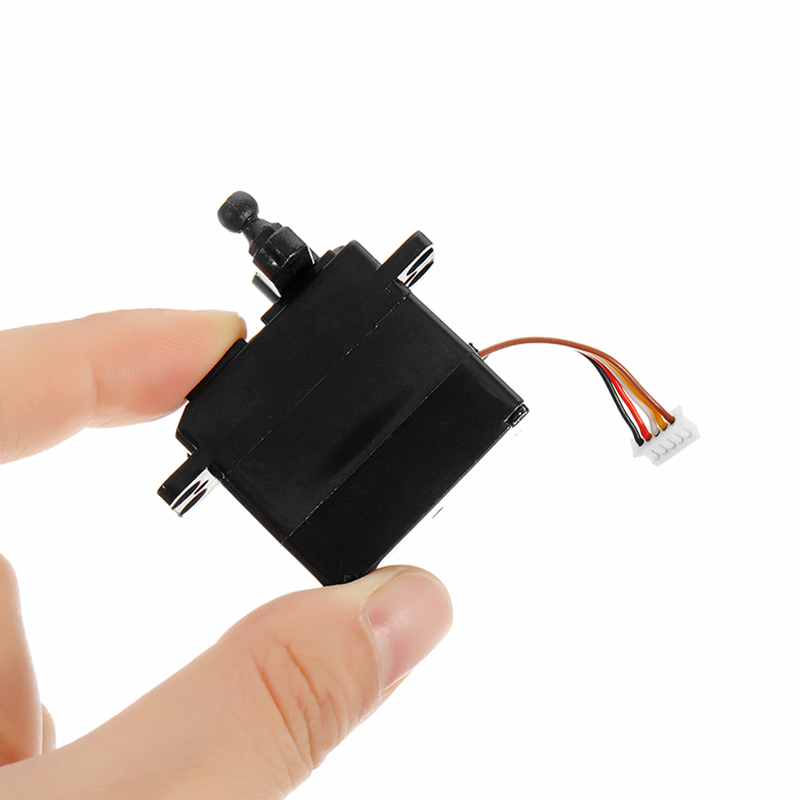5-wire 2.2kg 19g Servo With Plastic Gear For 9125 1/10 RC Car Parts No.25-ZJ04
