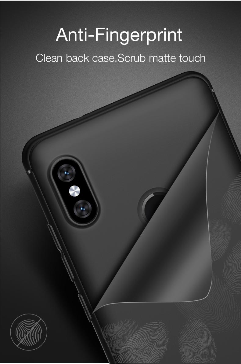 Bakeey Matte Soft TPU Back Protective Case For Xiaomi Redmi Note 5/Xiaomi Redmi Note 5 Pro