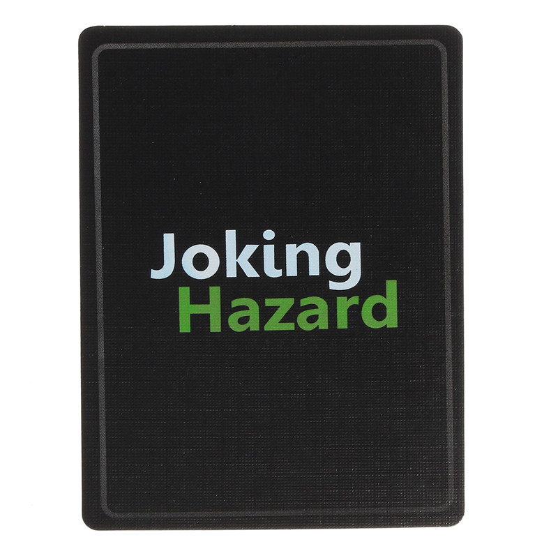 Hot Joking Hazard Game Card Deck Enhancement For Kids Families Party Funny Toys