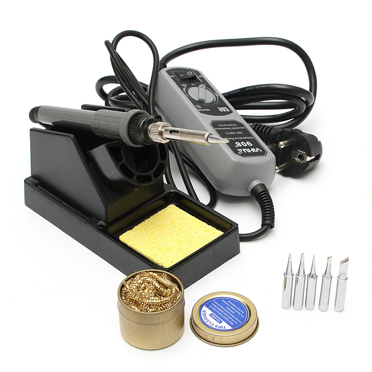 YIHUA 908+ 220V 60W Electric Iron Soldering Station Wel
