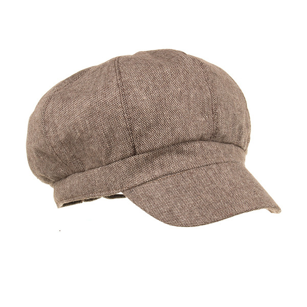 New Trendy Summer Cotton Beret Cap Causal Outdoor Hat