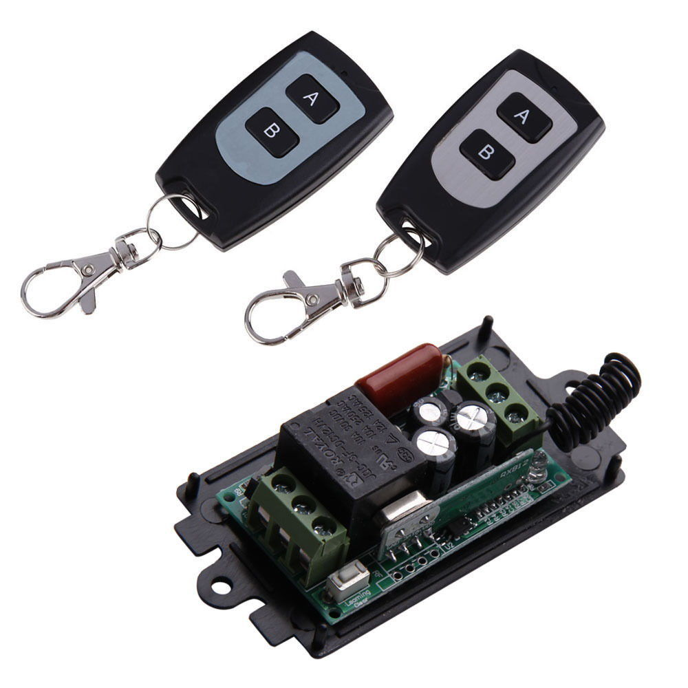 Geekcreit® 220V 10A 1CH Channel Wireless Remote Control Switch Module Transmitter + Receiver