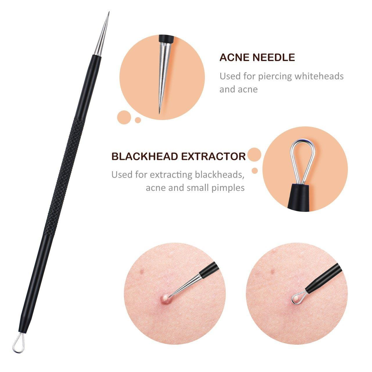 Y.F.M® 6pcs Multipurpose Blackhead Remover Kit Extractor Too
