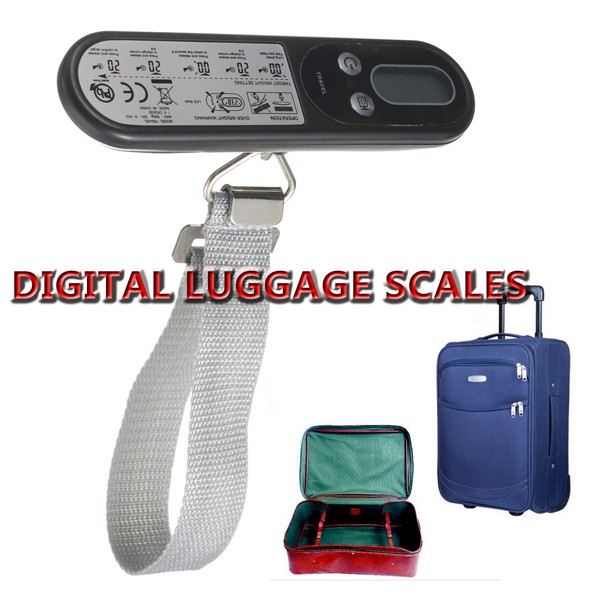 50KG Samrt LCD Digital Handheld Portable Travel Baggage Luggage Suitcase Scale Weight