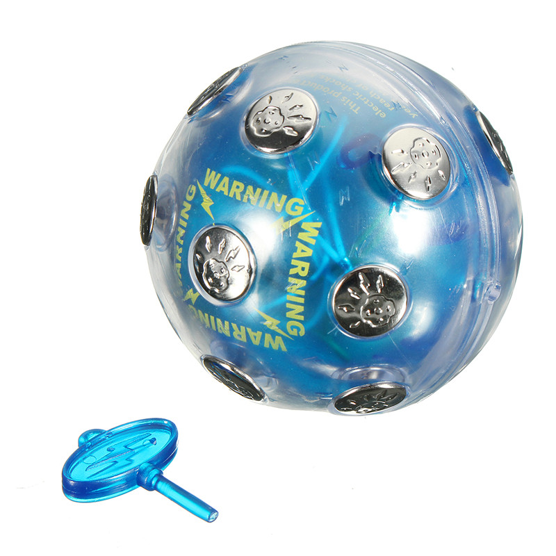 Electric Shock Ball Shocking Glowing Game Hot Potato Game Party Entertainment
