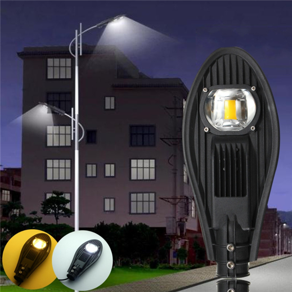 20W LED Warm White/White Road Street Flood Light Outdoor Walkway Garden Yard Lamp DC12V