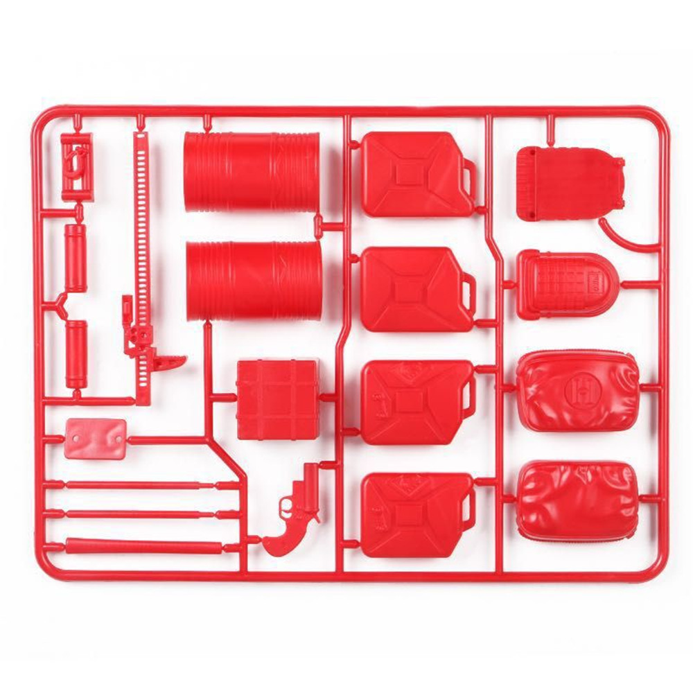 20PCS RC Decoration Tools for WPL B16 B36 C34 C24 JJRC Q65 4WD 6WD Car Spare Parts - Photo: 2