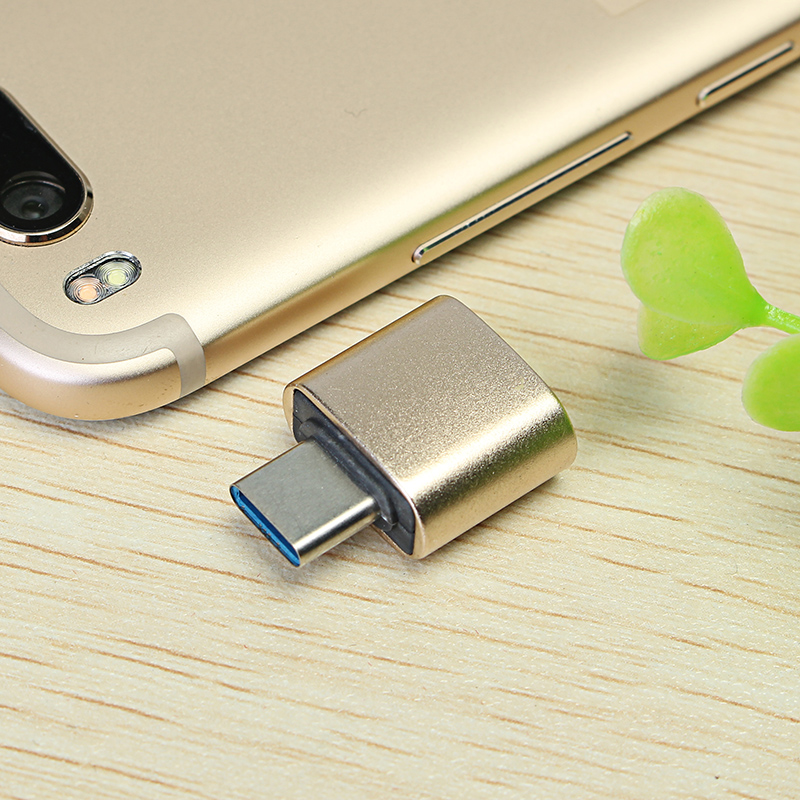 Bakeey USB Female To Type C Male OTG Adapter Converter For Oneplus 5 5t Xiaomi 6 Note 3 Mi A1 S8