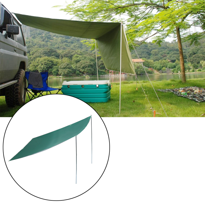 2.8 1.8m Sunshade Tent Car Outdoor Camping Roof Top Te