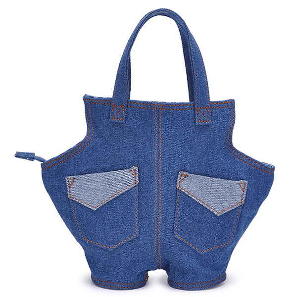 Denim Fabric Women's Jeans Handbag for Ladies