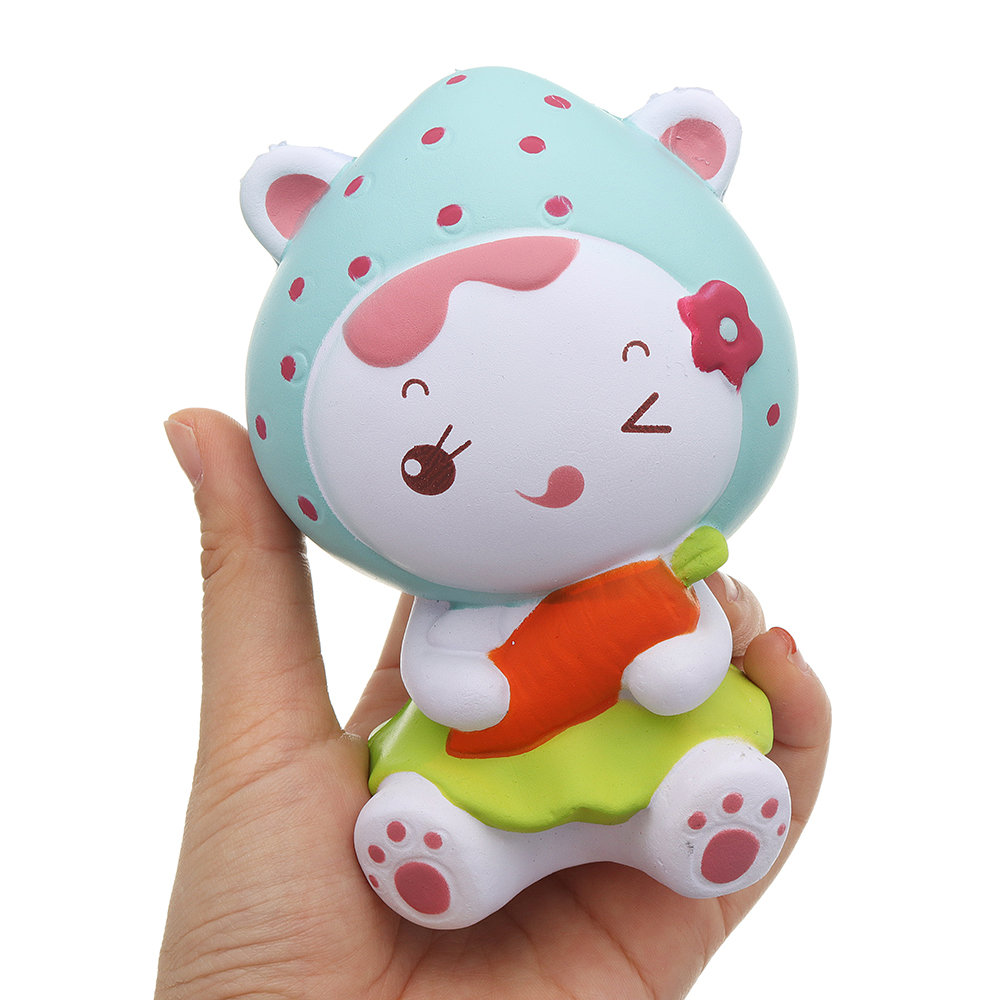 Strawberry Girl Squishy 12CM Slow Rising With Packaging Collection Gift Soft Toy