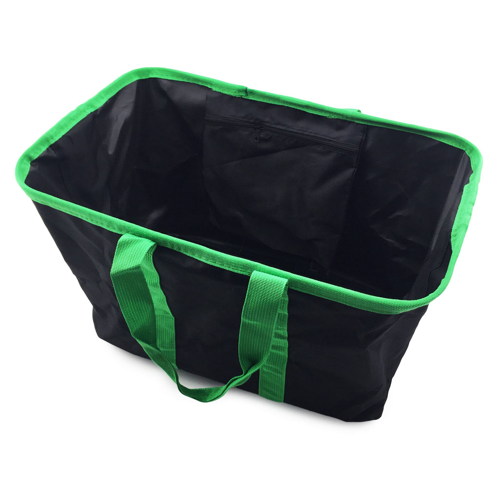 Large Capacity Folding Shopping Basket Waterproof Eco-friendly Reusable Shopping Bag Storage Basket