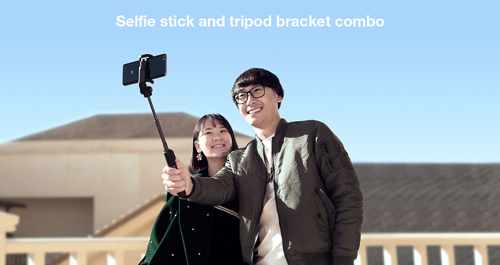 Original Xiaomi 2 in 1 bluetooth Mini Extendable Folding Tripod Selfie Stick For Mobile Phone