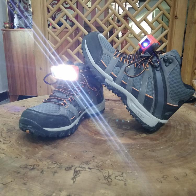 XANES 1 Pair LED Shoes Lights Night Shining Flash Light Safety Warning Running Shoes Clothing Bag