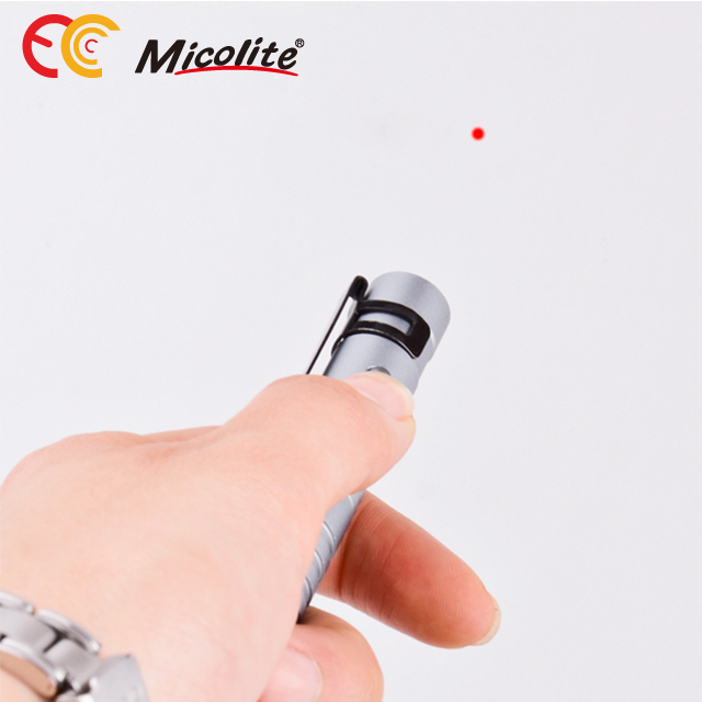 Micolite MPL-005 Multi-function Self Defense Red Laser Pointer Tactical Pen with 5LM LED Flashlight