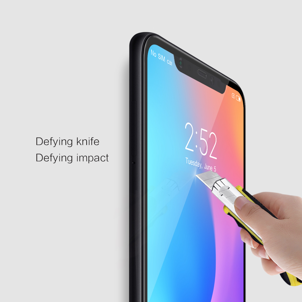 NILLKIN CP+MAX 3D Full Coverage Anti-explosion Tempered Glass Screen Protector for Xiaomi Mi8 Mi 8/ Mi8 Pro