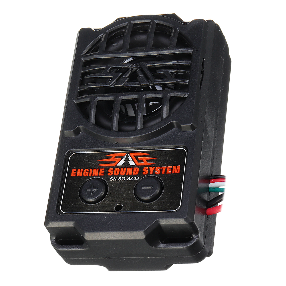 Simulated Voice SG-SZ03 Simulator 5 Engine Sound And 5 Whistle Sound For All RC Car Parts