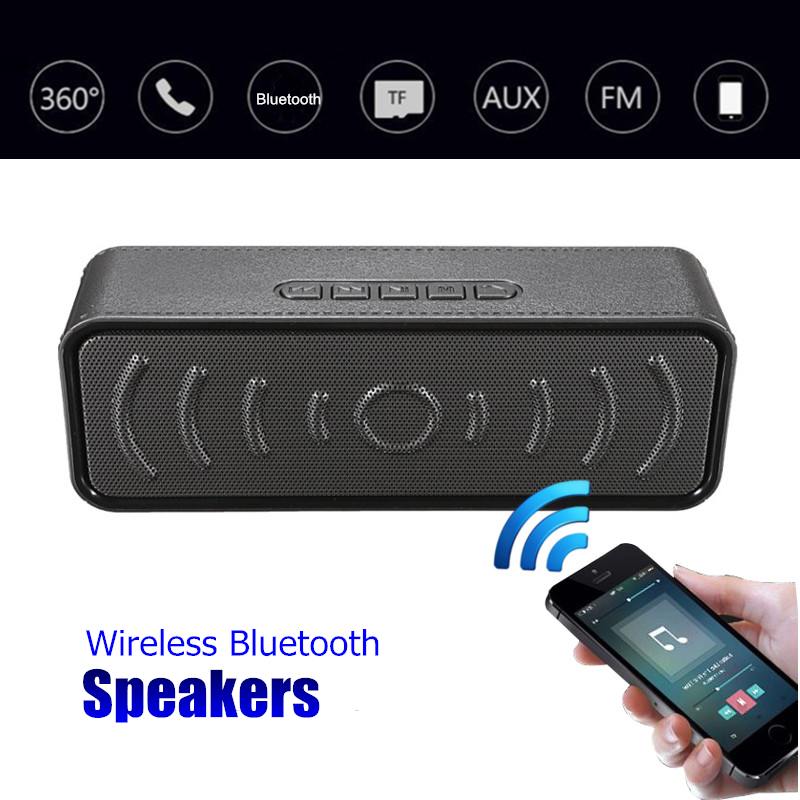 Wireless bluetooth Speaker Outdoor Portable Mini Stereo Speakers Subwoofer