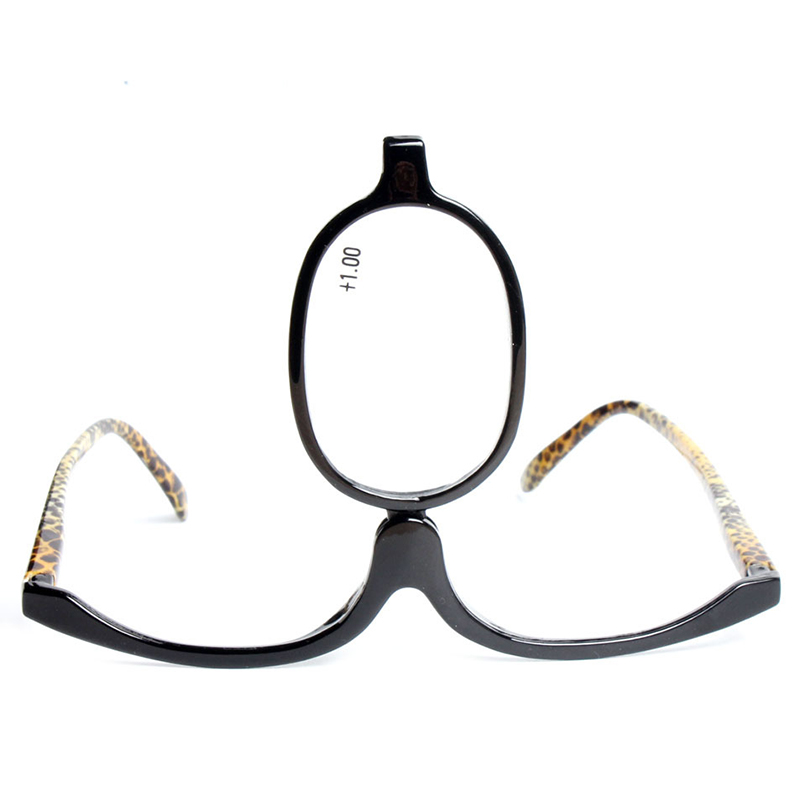 Womens Magnifying Folding Cosmetic Makeup Readers Glasses