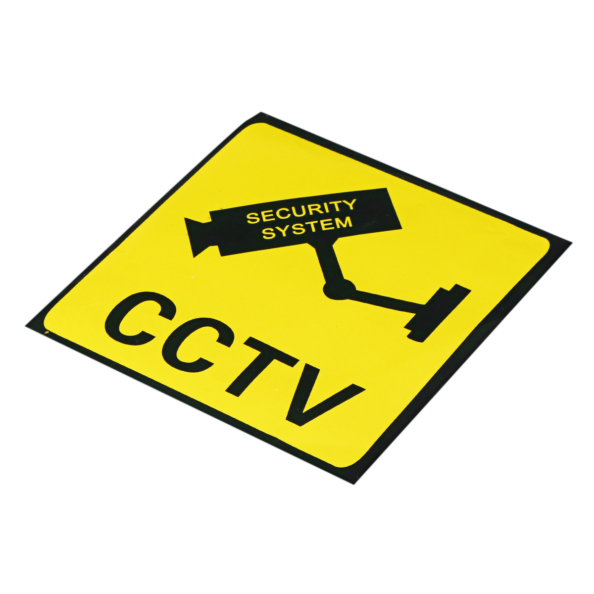 CCTV Surveillance Camera Sticker Warning Sign Security System Monitor Decal