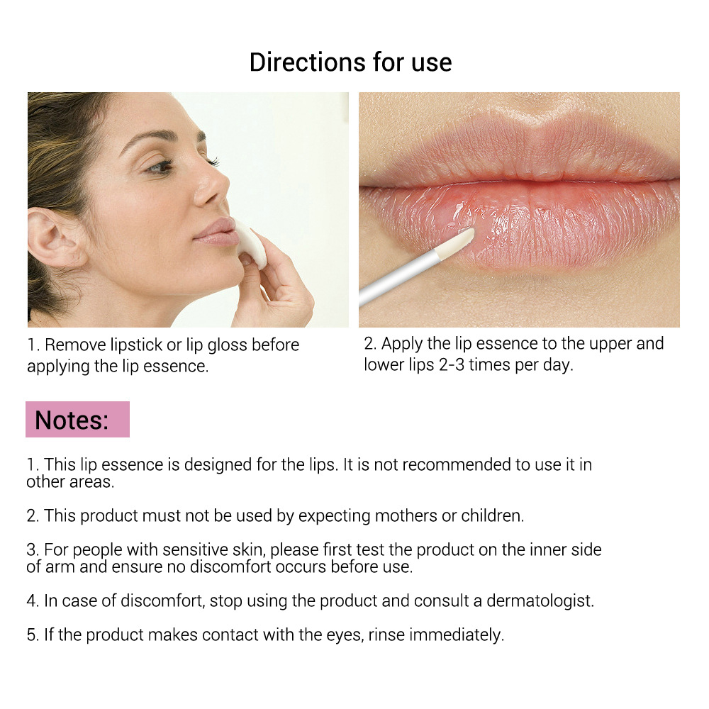 4.5ml Lip Gloss Enhancer Elasticity Lip Care Liquid