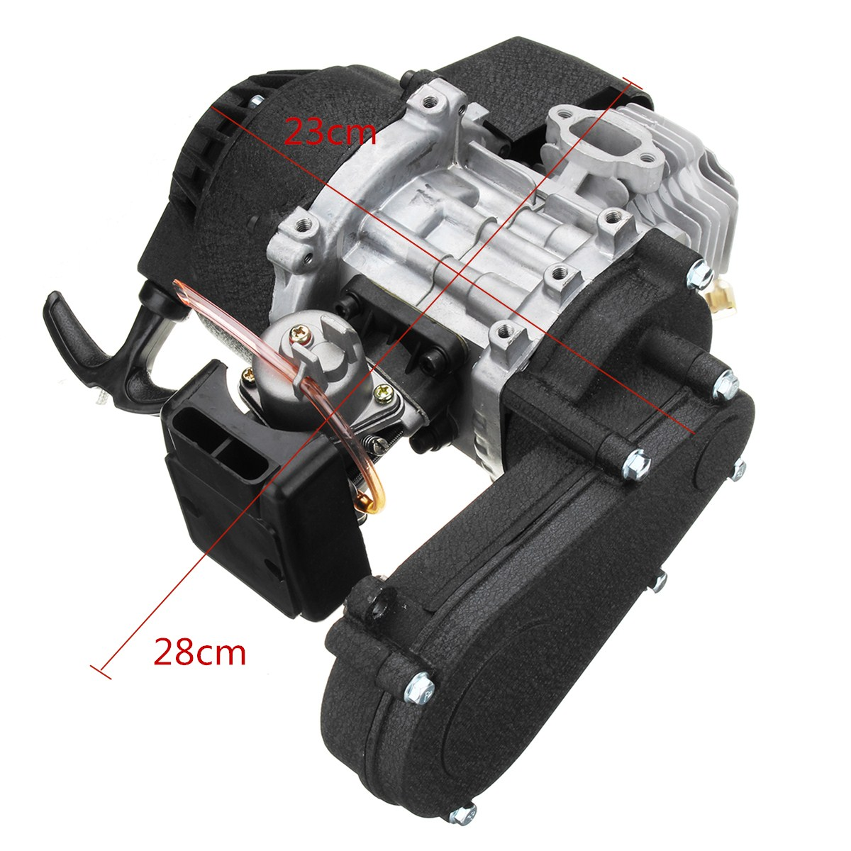 49cc Engine 2-Stroke Pull Start With Transmission For Mini Motor ATV Quad Bike