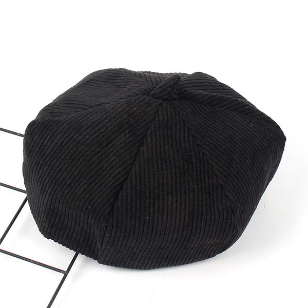 Leisure Stripe Design Beanie Vogue Outdoor Hexagon Skullcap