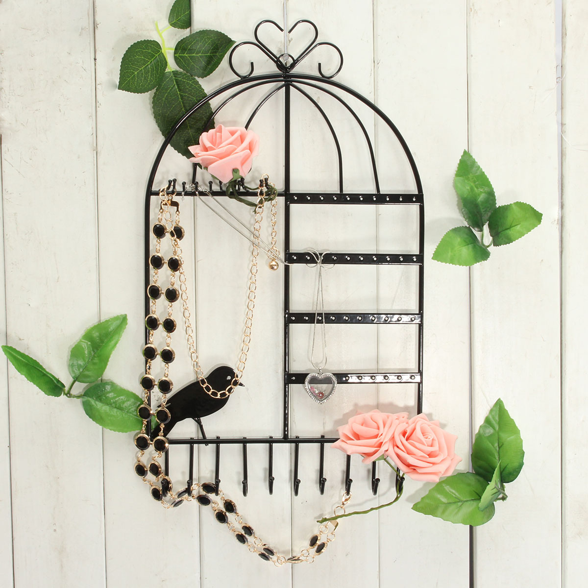 Lovely Bird Jewelry Show Diapaly Stand Holder Collect
