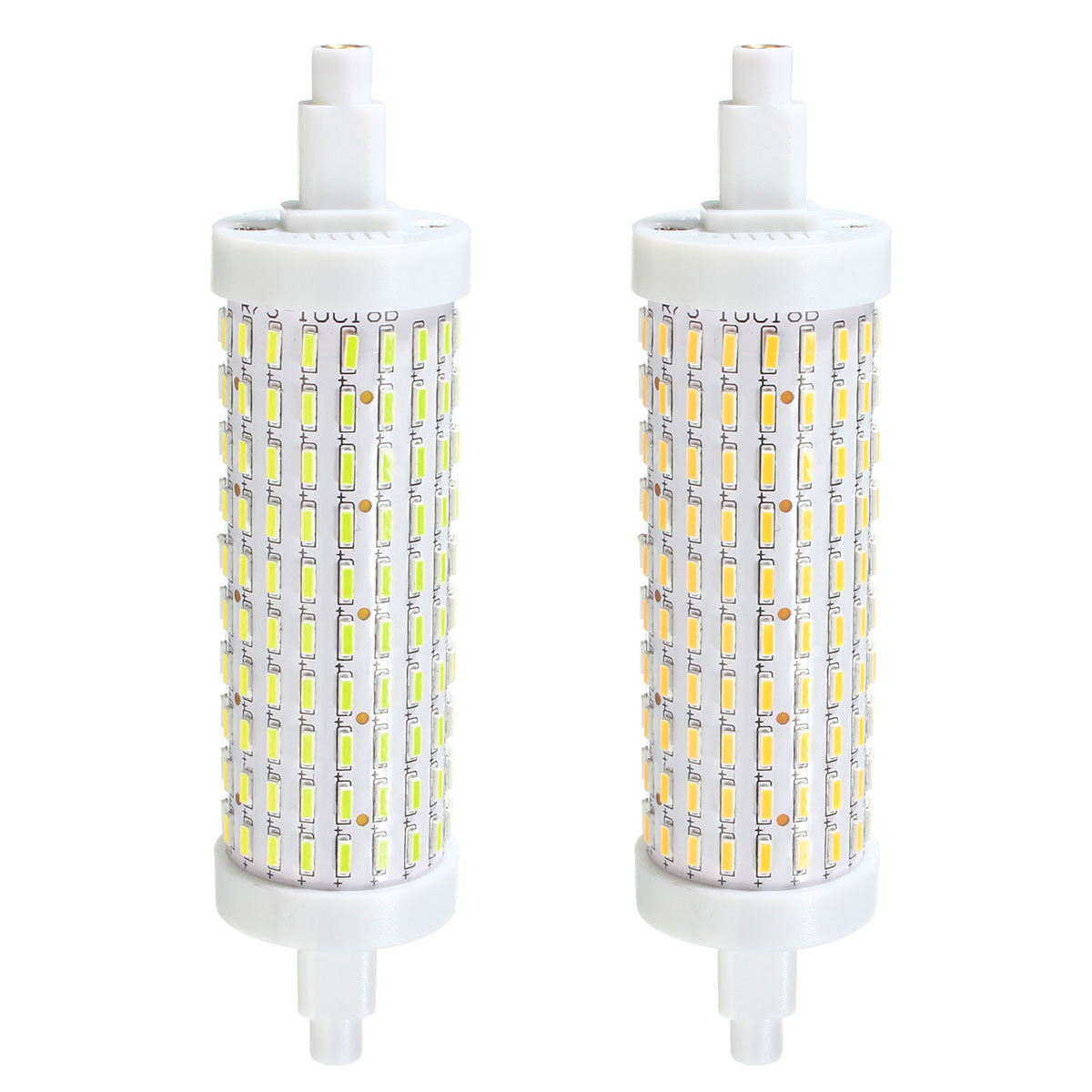 Dimmable R7S 118mm 8W 180 SMD 4014 LED Pure White Warm White Light Lamp Bulb AC85-265V