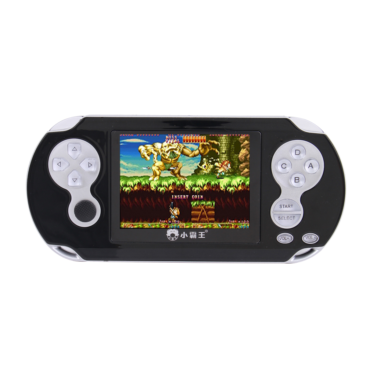 Subor RS-94 2.8 Inch Vintage Handheld Video Game Console Built-in 1117 Games MP4 Player