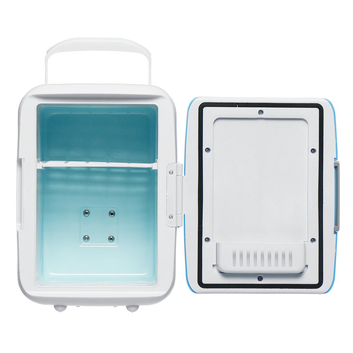12V 4L Car Portable Mini Fridge Cooler Warmer Refrigerator Freezer Box Travel