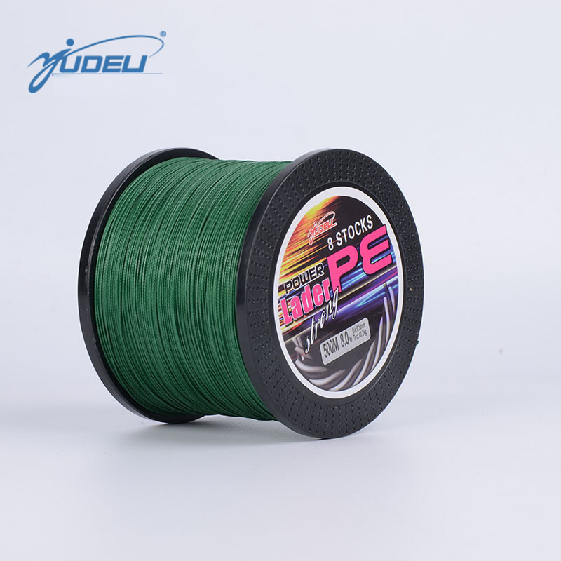 YUDELI 500M 8 Braided PE Fishing Line Bait lure Accessory Strong Carp Sea Fish Cord