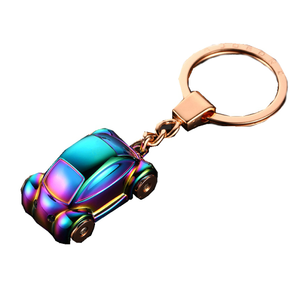 Car Shape EDC Gadgets Metal Keychain Carabiner Locking Hook Keyring