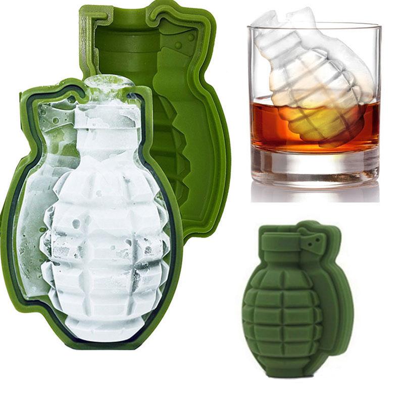 KCASA BT-100 Creative Game Grenade Shape Cocktail Whisk