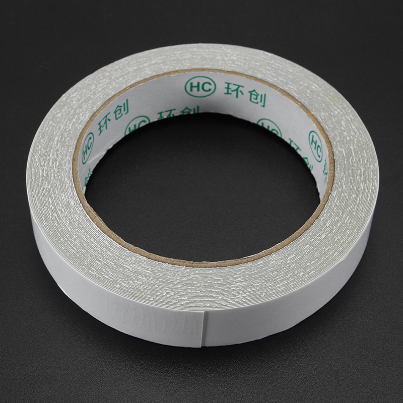 Double Sided Cloth Duct Tape Strong Adhesive Gauze Fiber Carpet Mat Tape 3 Sizes