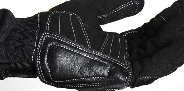 Warm Full Finger Leather Gloves For Riding Driving Racing