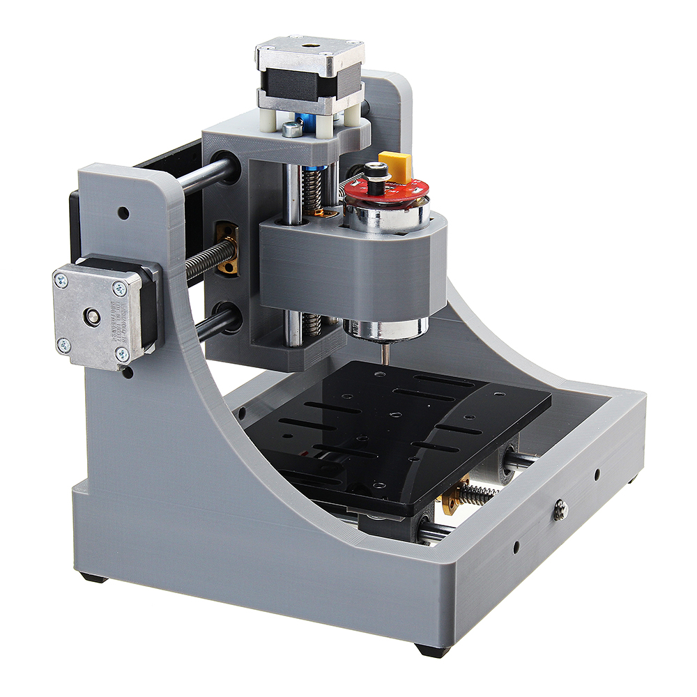 1208 3 Axis Mini Assembled CNC Router Wood PCB Milling Engraving Machine DIY Engraver 120x80x16mm 32