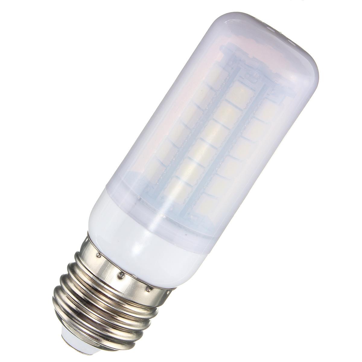 E27 E14 B22 G9 GU10 4.5W 48 SMD 5050 LED Pure White Warm White Natural White Cover Corn Bulb AC 220V