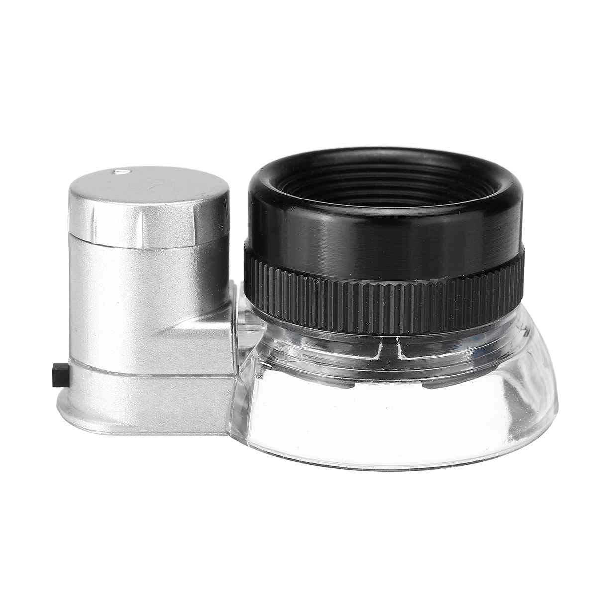 20X Magnification Magnifier LED Loupe Light Jewelry Optical Glass Magnifying