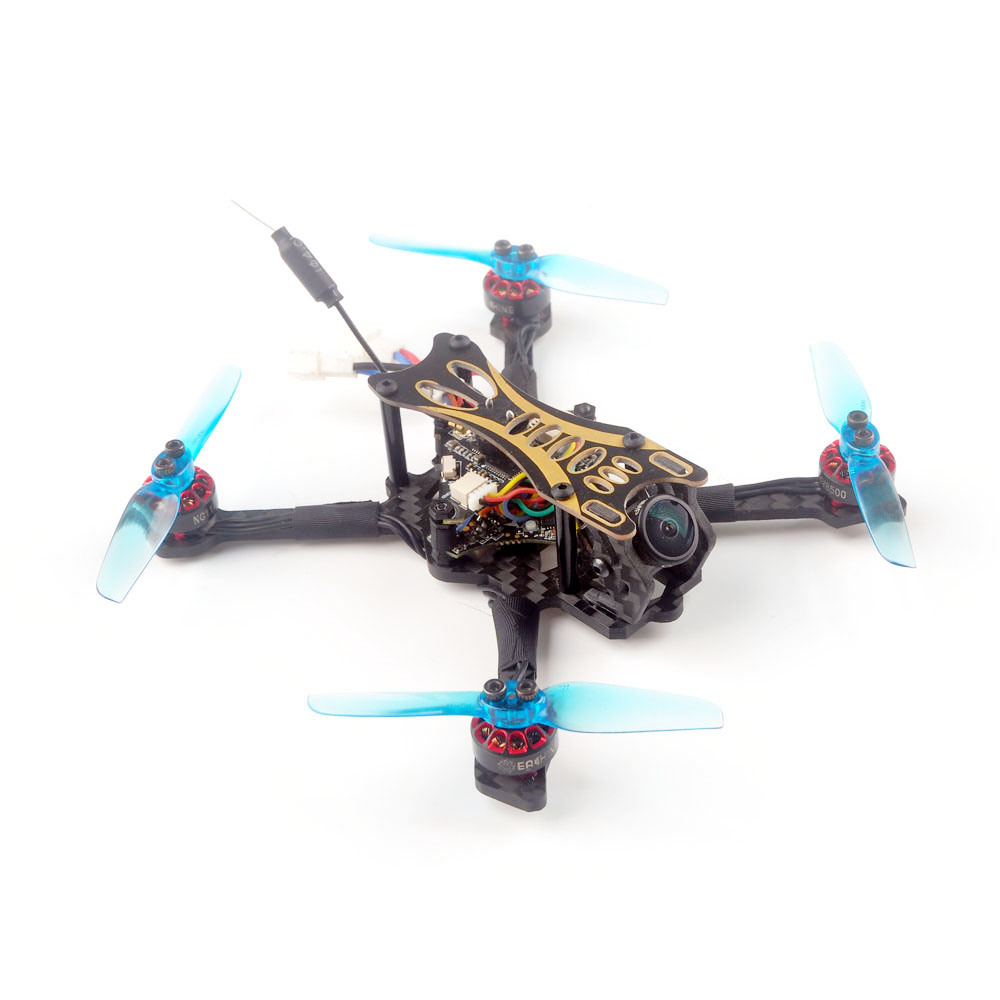 Eachine Novice-II V2.0 1-2S 2.5 Inch Toothpick FPV Racing Drone RTF & Fly more w/ Flysky FS-I6 2.4G Transmitter 5.8Ghz 40CH VR009 Goggles
