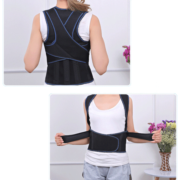 Unisex Adjustable Hunchbacked Posture Corrector Back Support