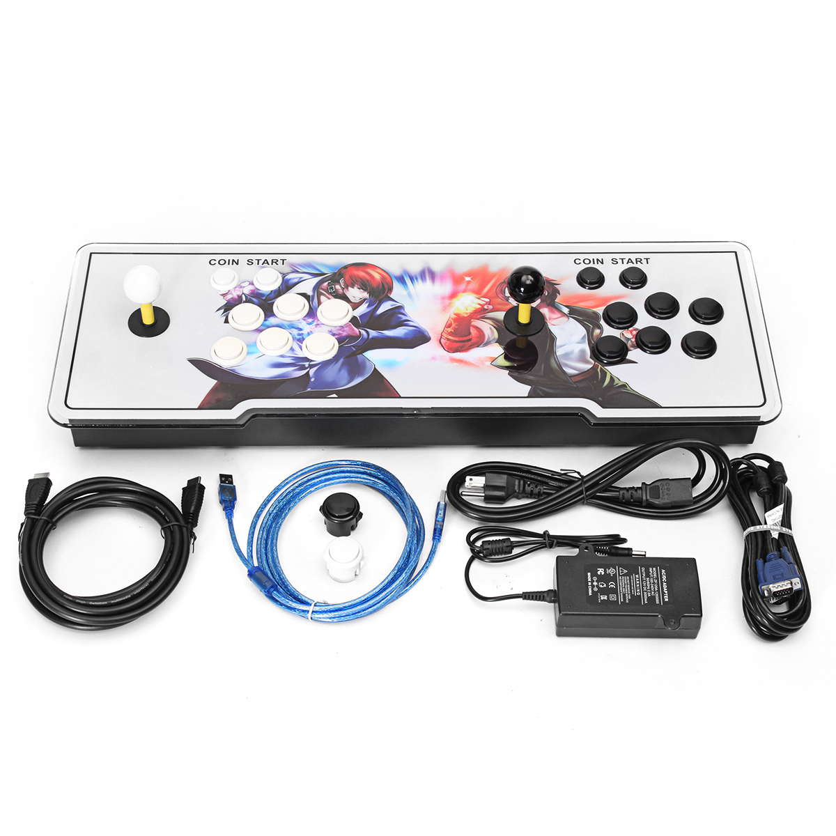 1299 In 1 Games Arcade Game Console Machine Video With Joystick Key VGA/HDMI/USB