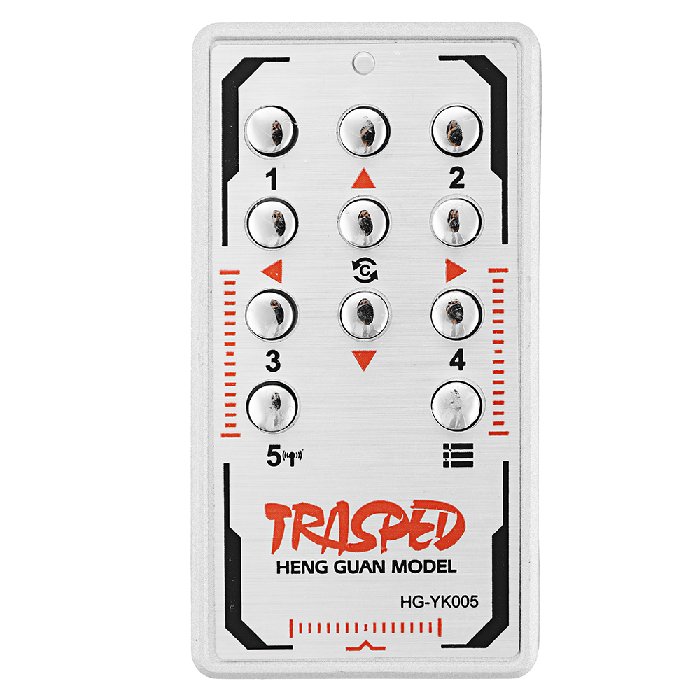 HG P806 TRASPED 1/12 Heavy RC Trailer Spare Radio Transmitter Receiver Board TBASS-02 Car Vehicles Model Parts