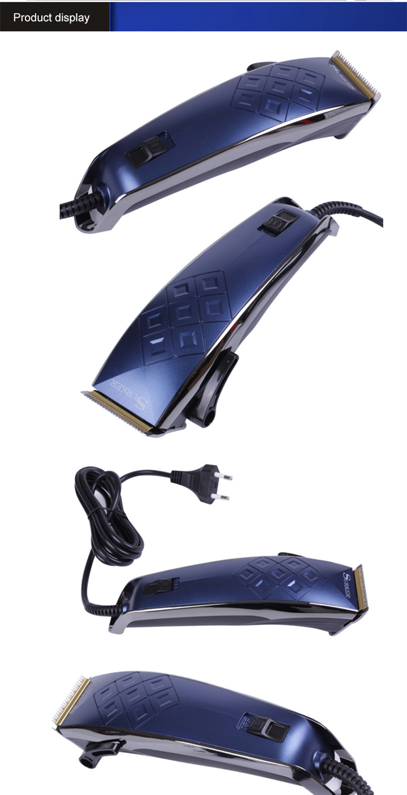 SURKER SK-5608 Adjustable Rechargeable Hair Clipper Electric
