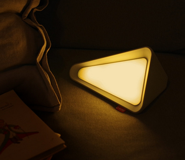Portable USB Rechargeable Reversal Sensor Dimmable LED Night Light Table Bedside Reading Lamp