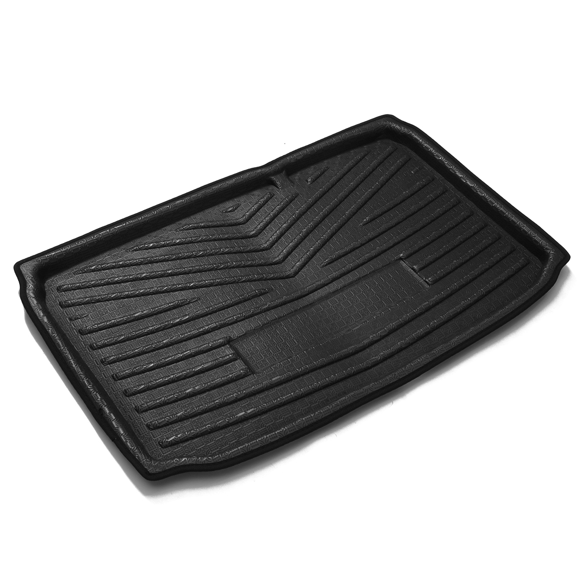 PE Car Rear Boot Trunk Cargo Dent Floor Protector Mat Tray for Ford EcoSport 2018+