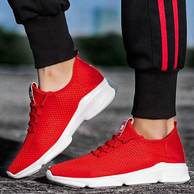 Breathable Mesh Lightweight Running Sneakers