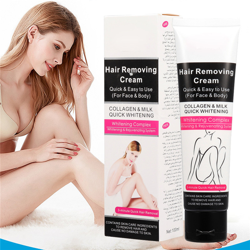 Painless Quick Hair Removal Depilatory Cream