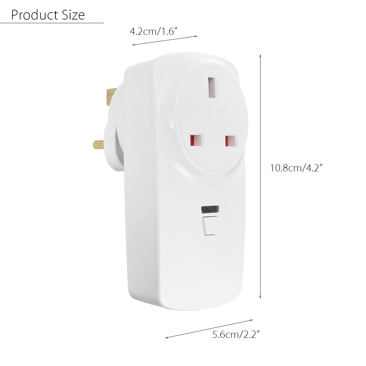 Smart WiFi Socket UK Plug Outlet Timer For Amazon Alexa Echo For Google Home